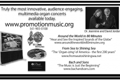 2 Promotion Music ad - half page