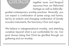 3 Third Church ad - quarter page